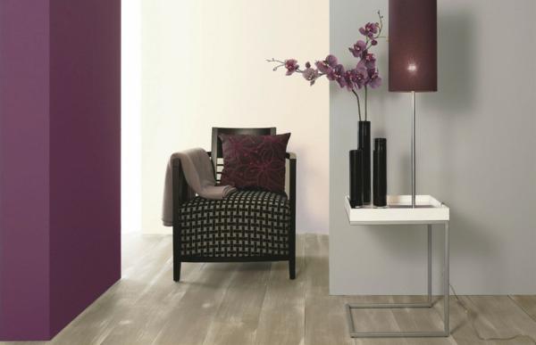 taupe wandfarbe für ihr zimmer - gemütlichkeit schaffen - archzine.net - Farbe Fr Wohnzimmer