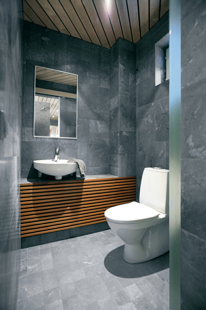 Awesome Wandfarben Badezimmer Beispiele Pics - Moderne ...