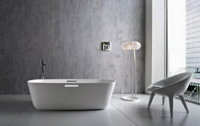 modernes badezimmer grau – topby, Badezimmer