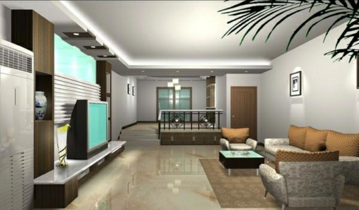 wandfarben-ideen-graue-farbschemen-im-wohnzimmer