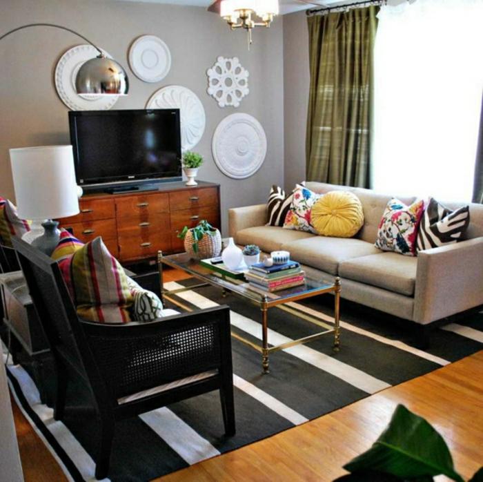 wandfarben-palette-grautöne-schöner-teppich