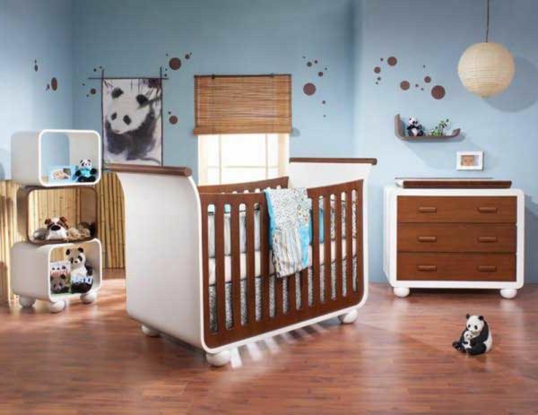 wandsticker-babyzimmer-panda- schubladen -schrank