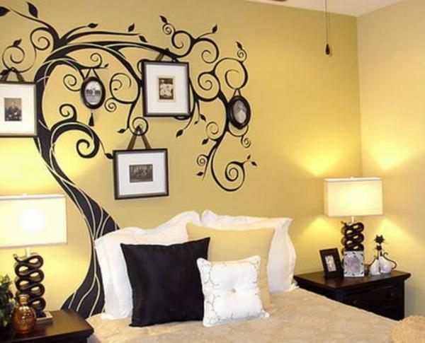 Schlafzimmerwand gestalten 40 wundersch ne vorschl ge for Man u bedroom ideas
