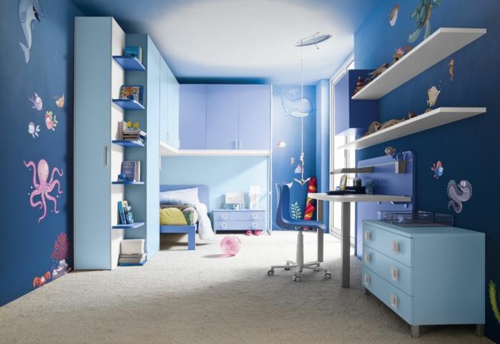 wandtattoo-für-junge-schlafzimmer-kinderzimmer-jungen-ideen