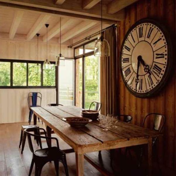 moderne wanduhren 27 kreative beispiele. Black Bedroom Furniture Sets. Home Design Ideas