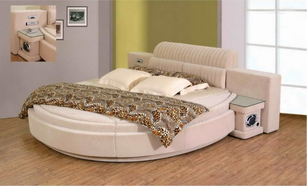 wasserbett-weiße-farbe - super idee für einrichtung