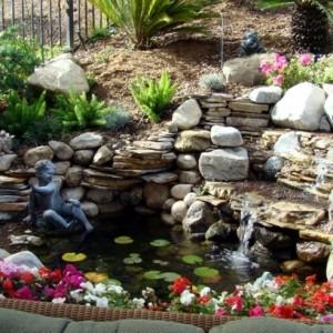 Wasserfall im Garten  - 25 wunderschöne Ideen