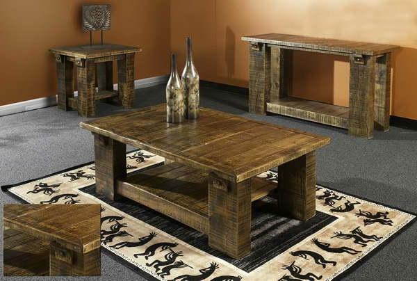 best wohnzimmer holztisch massiv ideas. Black Bedroom Furniture Sets. Home Design Ideas