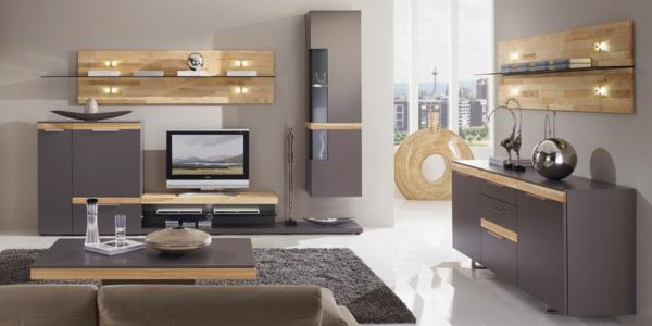 taupe wohnzimmer:wohnzimmer-taupe-wandfarbe