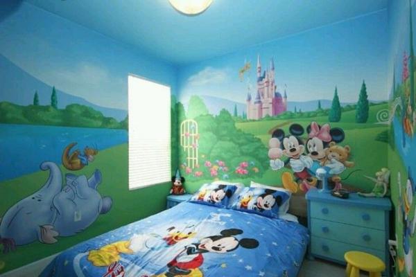 Awesome Micky Maus Kinderzimmer Gallery - Erstaunliche Ideen ...