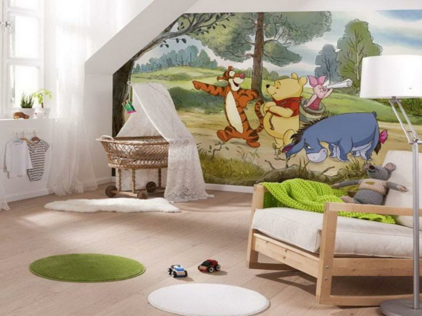 kinderzimmerw nde gestalten machen sie es zauberisch. Black Bedroom Furniture Sets. Home Design Ideas