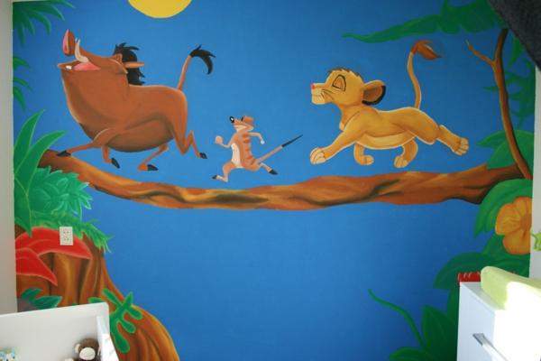Kinderzimmerwu00e4nde gestalten - Machen Sie es zauberisch!