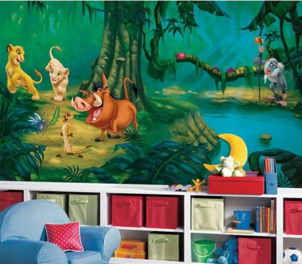 wandtattoo kinderzimmer k nig der l wen reuniecollegenoetsele. Black Bedroom Furniture Sets. Home Design Ideas
