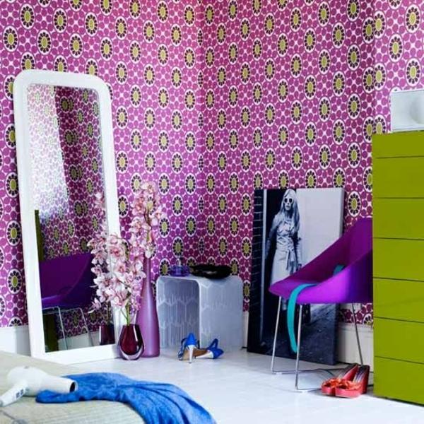 Mädchen-Accessoires-Mädchenzimmer-Wand