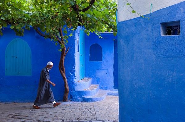 alte-stadt-in-morocco-blaue-farbe