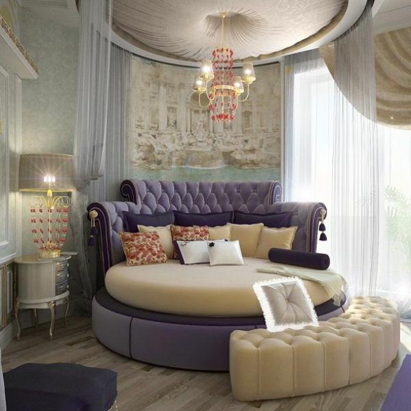 Rundes Bett Design - 40 unglaubliche Bilder! - Archzine.net