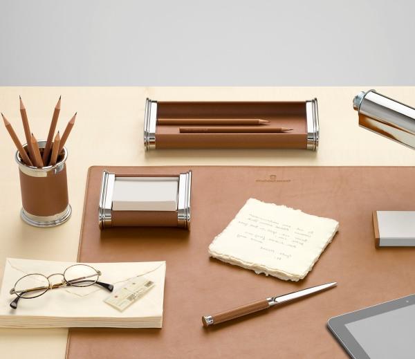 Schreibtisch accessoires holz edelholz b roaccessoires for Schreibtisch accessoires design