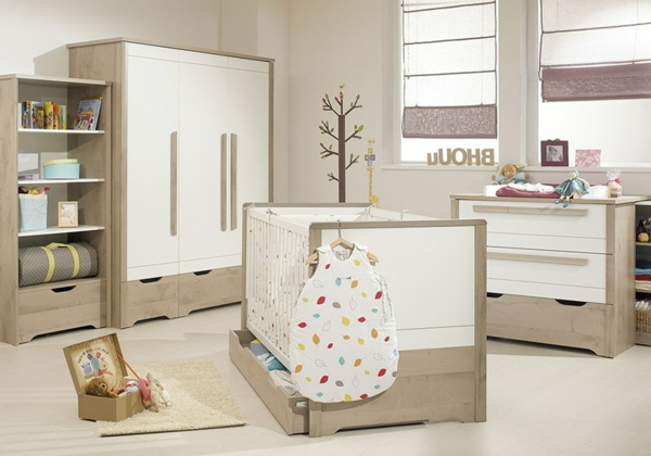 ultramoderne babyzimmergestaltung 30 neue vorschl ge. Black Bedroom Furniture Sets. Home Design Ideas
