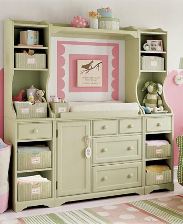 babyzimmer-gestalten-ideen-schöner-schrank-schubladen