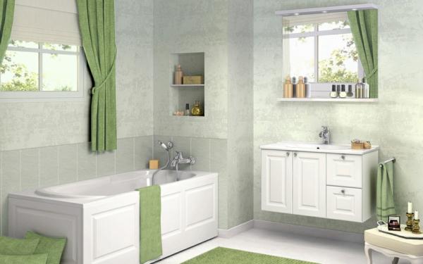 einrichten mit farben gr ne farbt ne f r frische atmosph re. Black Bedroom Furniture Sets. Home Design Ideas