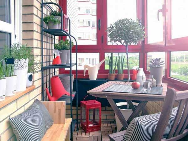 Moderne Holzterrasse Gestaltung - 27 Coole Vorschläge! - Archzine.net Balkon Gestalten Gemuetlich