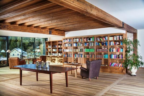 bequeme- Haus – Bibliothek