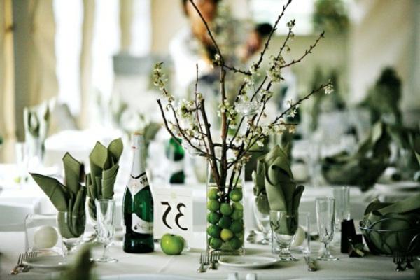 Hochzeitsdeko f r tisch 65 coole ideen for Elegante damenmode fa r hochzeit