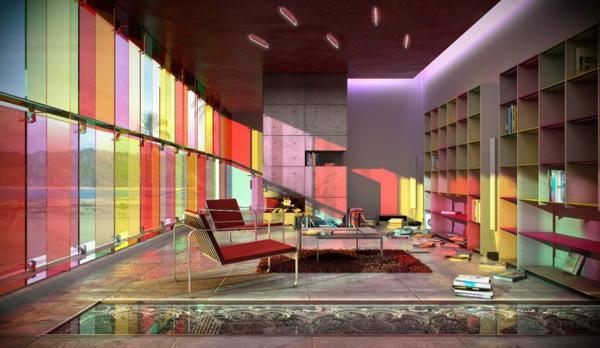 Emejing Einrichtungsdeen Fur Hausbibliothek Bucherwand Ideas ...