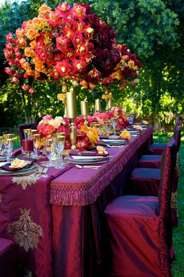 deko-für-tisch-super-originell-gestalten-rote rosen