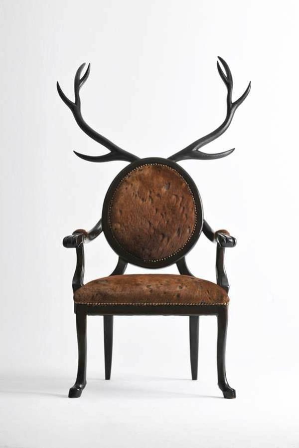 deko geweih zu hause einige sch ne ideen. Black Bedroom Furniture Sets. Home Design Ideas