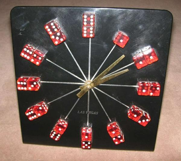 deko-vorschläge-domino-uhr