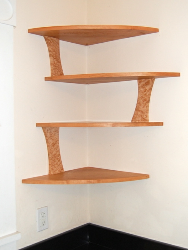 eckwandregale m belideen. Black Bedroom Furniture Sets. Home Design Ideas