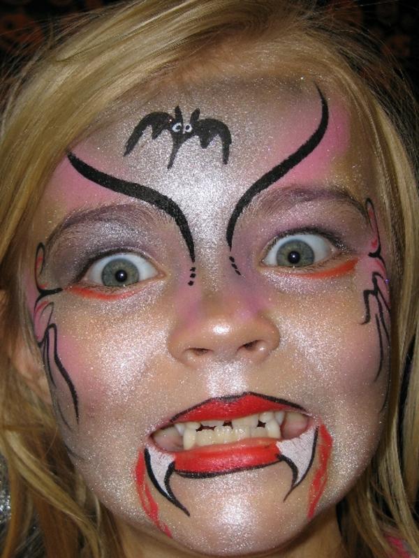 vampir schminken kind