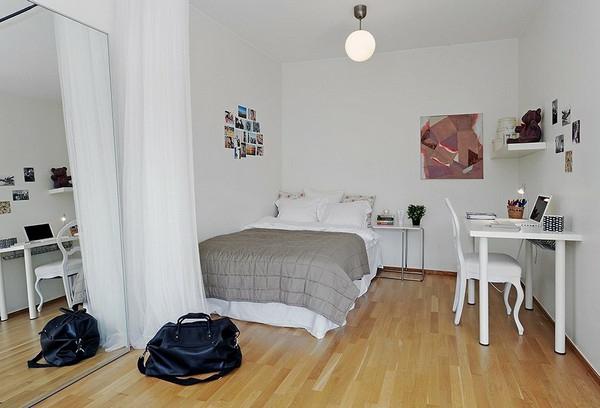 Einrichtungsideen Einraumwohnung ~ Kreative Bilder Für Zu Hause
