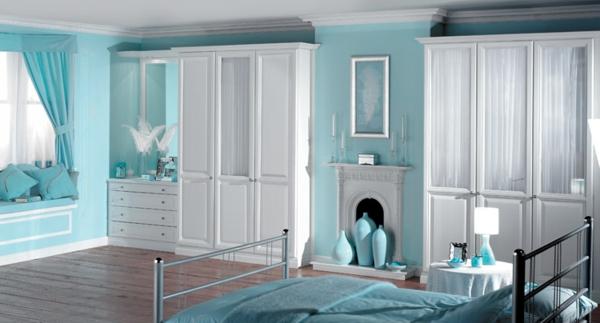 schlafzimmerm bel in wei 42 super ideen. Black Bedroom Furniture Sets. Home Design Ideas