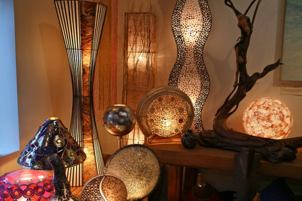 orientalische lampen f r ein exotisches ambiente im zimmer. Black Bedroom Furniture Sets. Home Design Ideas