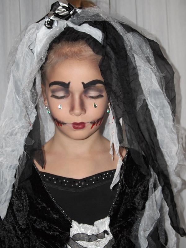 zum vampir schminken