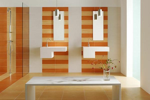 farbe-orange-feinsteinzeug-badezimmer