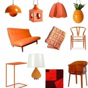 Einrichten mit Farben: Farbe Orange - der andere Name für Trend!