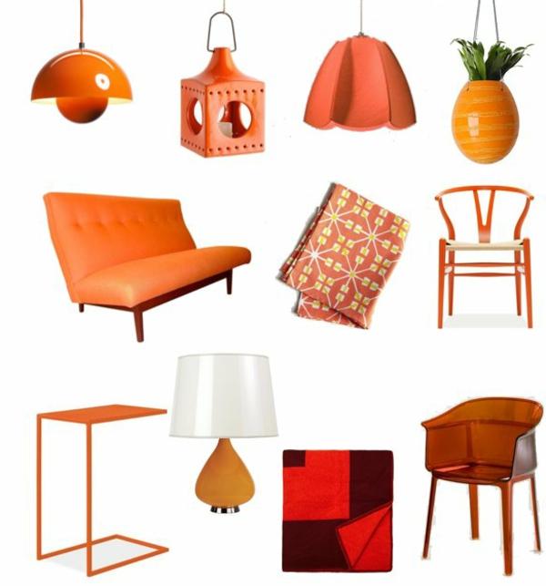 Einrichten Mit Farben: Farbe Orange
