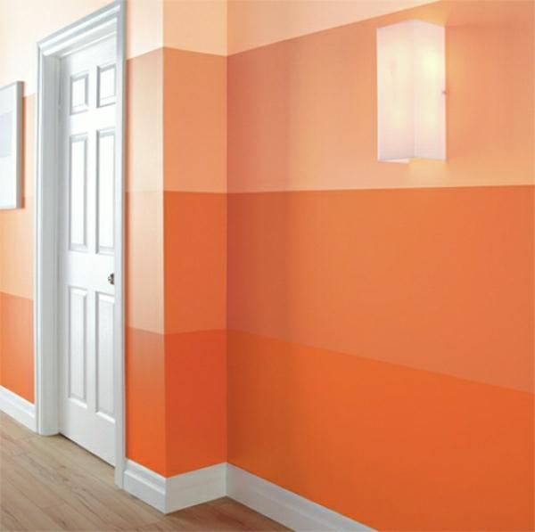 farbe-orange-mischung-von-strichen