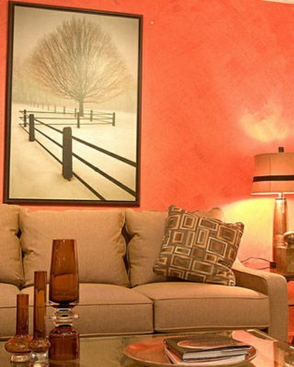 design : wohnzimmer farbe orange ~ inspirierende bilder von ... - Wohnzimmer Farbe Orange