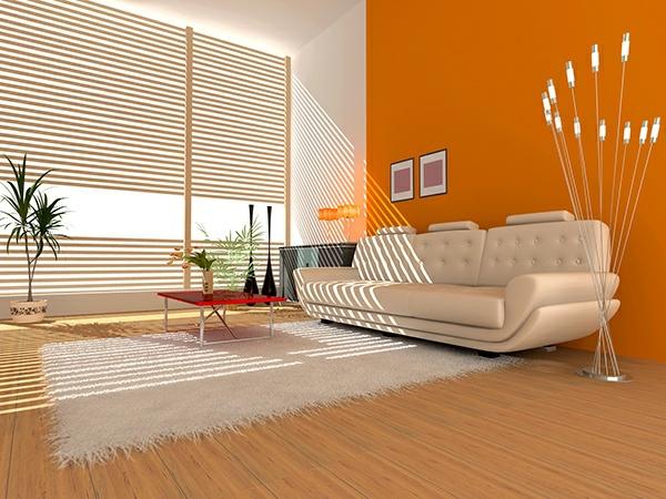 design : wohnzimmer farbe orange ~ inspirierende bilder von ... - Wohnzimmer Orange Rot