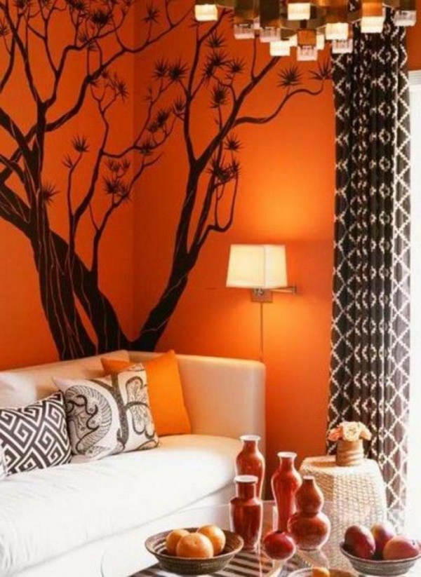 de.pumpink.com | home design ideas buch - Wohnzimmer Orange Rot