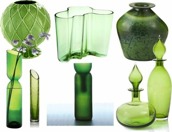 Einrichten mit farben gr ne farbt ne f r frische atmosph re - Grune bodenfliesen ...