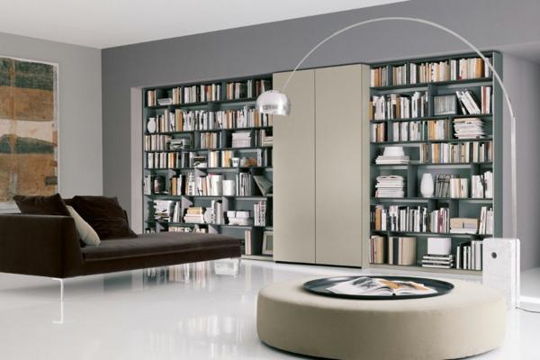 g (2)- Haus – Bibliothek