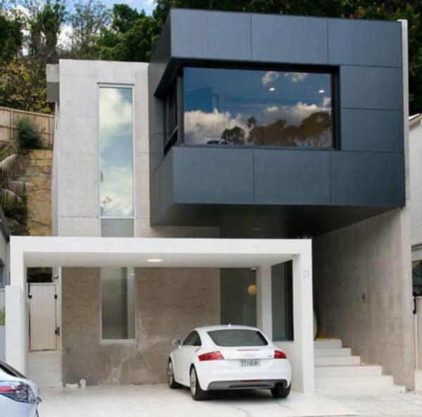 ganz-interessante-minimalistische-architektur-teil in schwarz
