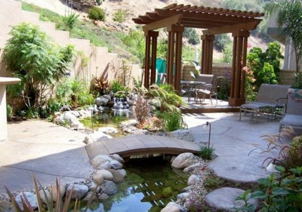 Gartenteich bauen 30 frische ideen f r ihren hinterhof - Gartenteich ideen ...