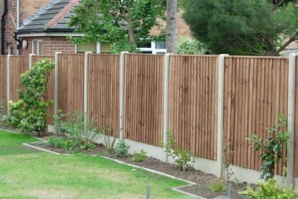 Moderne Gartenzaungestaltung 26 Interessante Vorschl 228 Ge