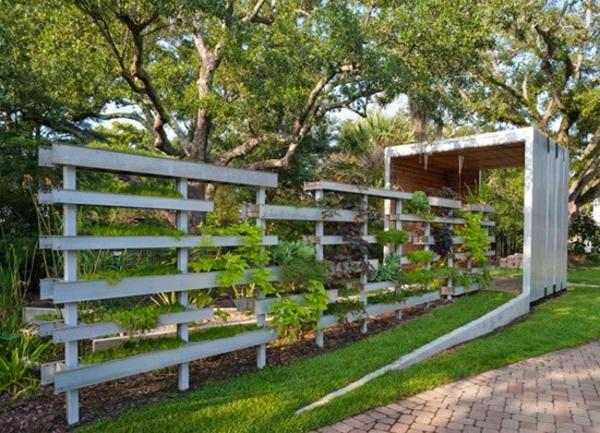 fence house design garten vorschl ge kleine g rten. Black Bedroom Furniture Sets. Home Design Ideas